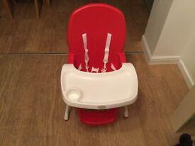 Babies hi/ Low feeding chair