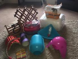 Rat/small animal toys & accessories.