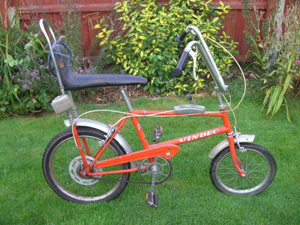 1976 Vindec High Riser Retro Chopper Bike One Of Many