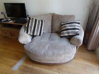 Lullabye Cuddler Pillowback Chair