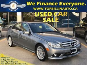 2010 Mercedes-Benz C-Class C250 4MATIC, SUNROOF, Only 79K kms
