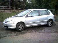 Honda Civic Imagine in good condition.