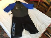 BARE ATTACK SPRING SHORT SLEEVED Shortie Unisex wet /dry suit