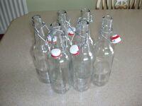 Glass Flip Top 500ml Bottles