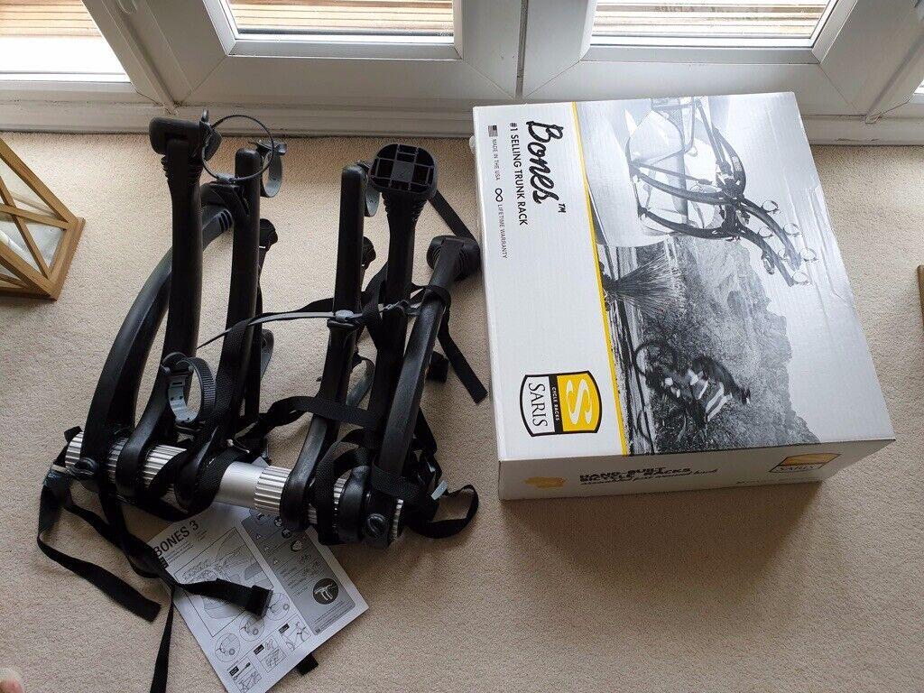 Saris 801BL Bones 3 Bike Rack Black Brand New in Box