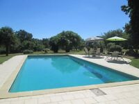 SW France - 5 acre ESTATE with 4 rental cottages/ large POOL -sleeping 2 - 18 persons.