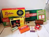 Bulk of vintage games/puzzles