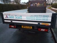 Scaffolding services across central scotland
