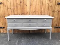 Stag dressing table sideboard Console table