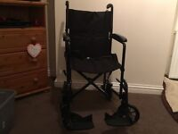 DRIVE FOLDING WHEELCHAIR COLLECT ROMFORD RM5 3EJ MOBILITY DISABILITY DISABLED ELDERLY FOR CHARITY