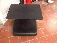 Small portable TV stand-good condition-wheeled