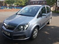 Vauxhall Zafira 1.6 i 16v Life 1 OWNER FAMILY 7 SEATER 10 MONTHS MOT LOW WARRENTED MILES HPI CLEAR