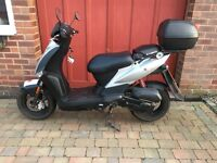 Kymco Agility 50 Scooter. Good condition 2000km. Unrestricted. Top box. Always garaged.