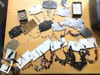Brand new never worn 21 piece collection of M&S jewellery (including gold and silver plated)
