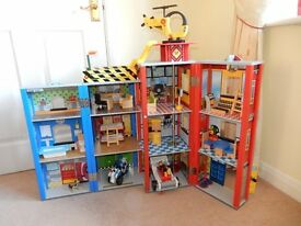 Mothercare Big City Wooden Rescue Station