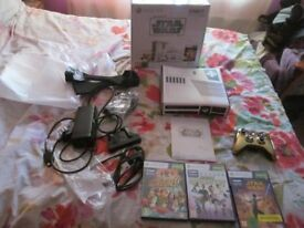 KINECT STAR WARS LIMITED EDITION 320 GB XBOX 360 HDMI CONSOLE WITH KINECT BOXED BUNDLE,3 GAMES
