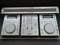 Pioneer CDJ 350's Limited Edition | DJM 350 Mixer | Flightcase | Good condition