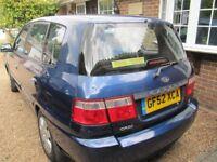 Carens CRDI LX Blue. Registered Jan 2003, 5 Door Hatch Back. Diesel (1991 CC)