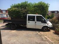 Ford Transit crew cab tipper may swap Px