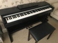 Yamaha YDP-142 Arius Black Walnut Electric Piano with chair