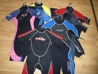 Wetsuits (shorties)