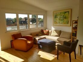 Large double in sunny flat with terrace. Near station, park, Bellenden Rd - £750 p/mth bills incl.