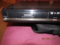Toshiba dvd recorder+HDD