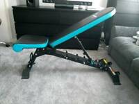 Mens health utility bench. Incline, flat and decline.