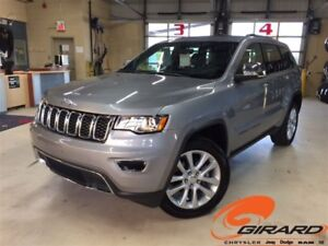 2017 Jeep Grand Cherokee LIMITED*TOIT OUVRANT*ÉCRAN 8.4*CUIR*GPS