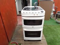 creda electric cooker 50 cm double oven