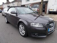 2009 Audi A3 sport TDI convertable diesel high spec lovely condition mot 15/02/18