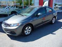 2013 Honda Civic A/C SIEGES CHAUFFANTS BLUETOOTH