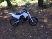 50cc dirt bike mini moto, twist and go