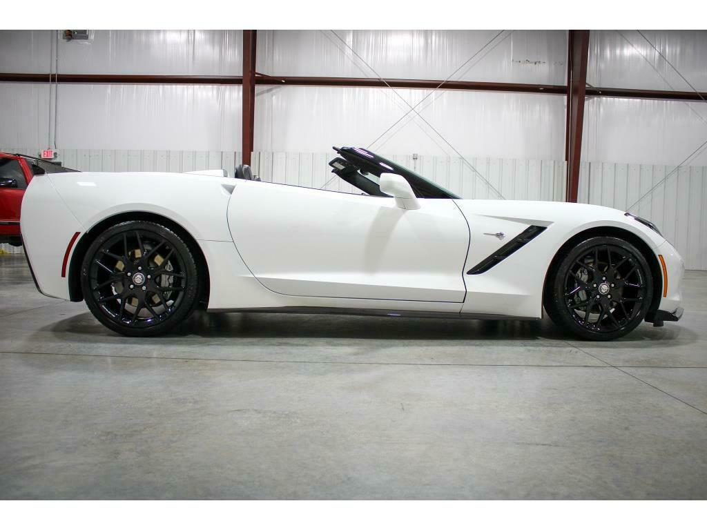 2019 White Chevrolet Corvette Convertible 3LT   C7 Corvette Photo 6