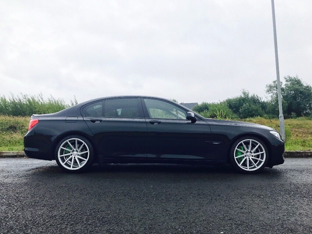 bmw 7 series f01 730d diesel automatic only 59k miles fsh 530d f10 a8 s class xj in portadown. Black Bedroom Furniture Sets. Home Design Ideas