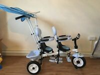 Blue trike double by Aime and Gracie
