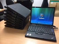 8 x Lenovo X61s Laptops Job Lot