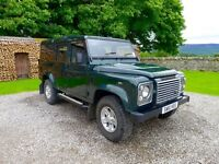 Land Rover Defender 110 Utility TDi XS, excellent condition with on-road usage only, no VAT