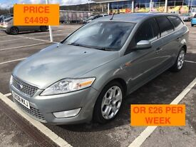 2008 FORD MONDEO TITANIUM X ESTATE TDCI / NEW MOT / PX WELCOME / FULLY LOADED / FINANCE / WE DELIVER