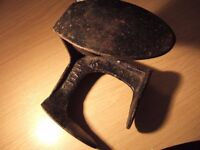 Vintage Antique Titan AJK Shoe lasts cast iron Cobblers shoe repair - feature