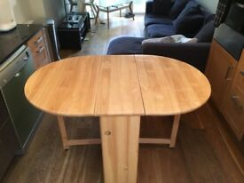 John Lewis portable kitchen table with 4 chairs