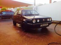 WELL PRESENTED 1988 mk2 VW GOLF DRIVER 1.6!!