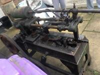 Rare vintage machinery. Mechanical saw. Also have reams tongs vice Joblot