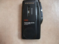 OLYMPUS PEARLCORDER S711 Microcassette Recorder