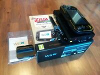 Nintendo Wii U Console (Windwaker Edition) Fully boxed - Inc All cables, booklets, extras & Gamepad