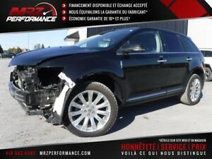 2015 Lincoln MKX AWD - Limited - FULL - Cuir - Toit - GPS - ETC.