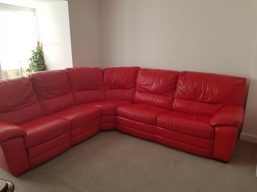 Large 3 4 Seater Leather Sofa Bed