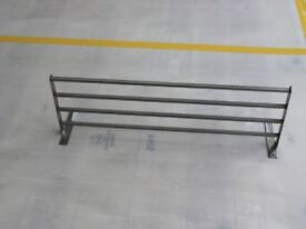 Stainless Steel Shelves Ikea x 2