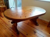 Solid wooden table £40