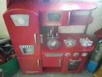 KidKraft vintage wooden kitchen